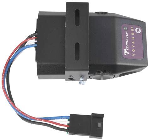 Tekonsha Voyager Trailer Brake Controller Instructions