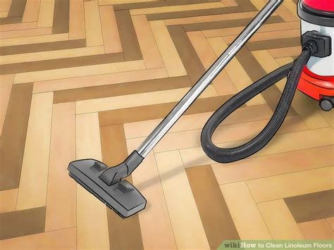 what is the best thing to use clean linoleum floors