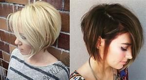 Coupe Cheveux Asymétrique : coiffure femme 2018 asymetrique coiffures modernes ~ Melissatoandfro.com Idées de Décoration