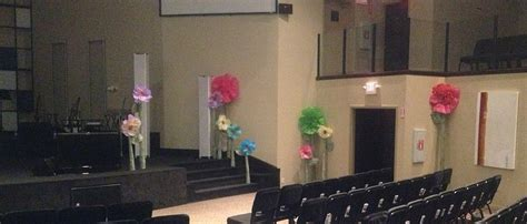 mothers flowers church stage design ideas