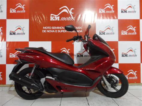 Pcx 2018 Vermelha by Motos Seminovas Km Motos Sua Loja De Motos Semi Novas
