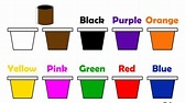 Learn Colors Name for Children, Red, Green, Yellow, Brown ...