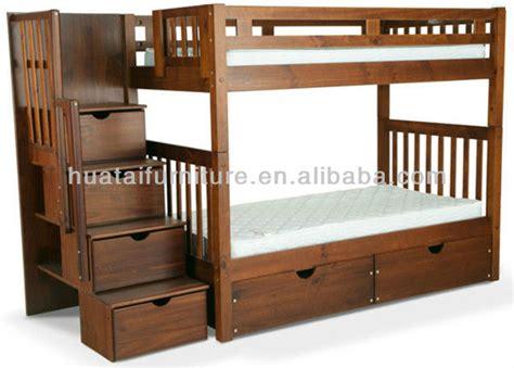 canapé lit superposé pin massif bois enfants lit superposé stable