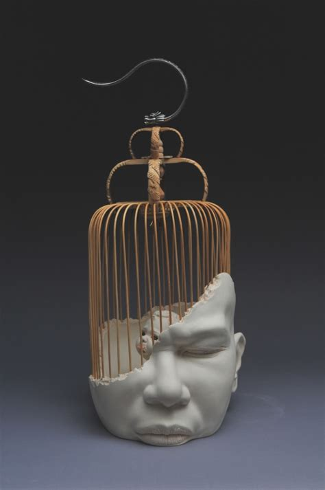 hong kong artist johnson tsangs grotesque  beautiful ceramic babies creative boom