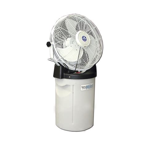 Portable Patio Misting Fans by Versamist Portable Misting Fan And Water Tank At Diy Home