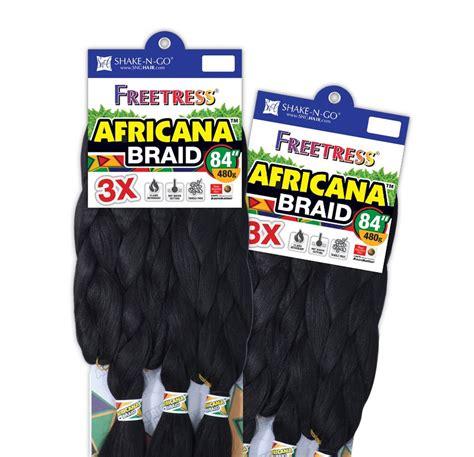 shake   freetress  africana braid