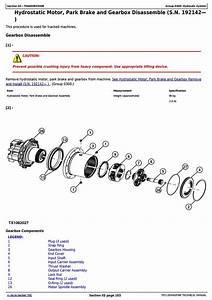 John Deere 318d  319d  320d  323d Skid Steer Loader W Manual Controls Service Repair Manual