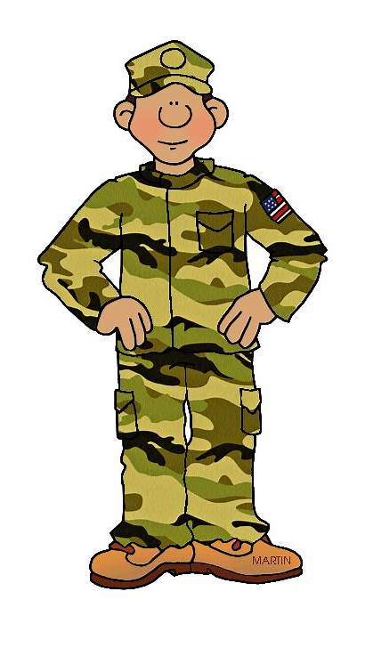 Army Clipart Clip Military Person Camouflage Cliparts
