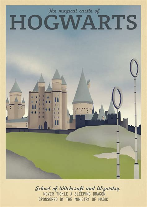 30 Amazing Travel Posters for Game of Thrones, Harry