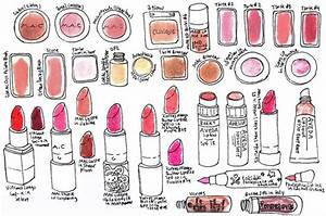 Must-See Makeup Illustrations by Julia Minamata 2011-06-21 ...