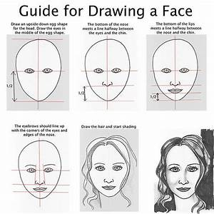 17 Best Images About How To Draw A Male And Female Face On