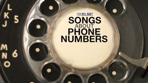 phone number song songs about phone numbers by steely dan tutone