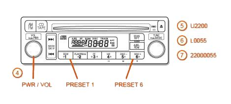 2002 Acura Tl Radio Code by Acura Radio Codes Dch Montclair Acura