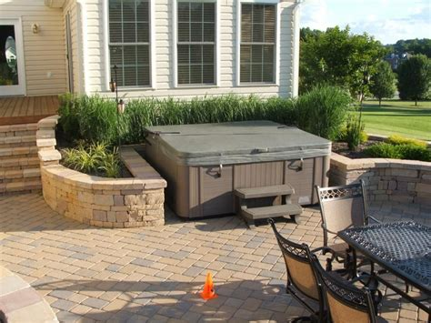 Patios With Tubs by Maryland Deck And Tubs Elite Spa By Maax Provided By