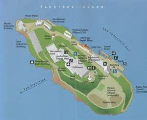 Alcatraz Island San Francisco Map