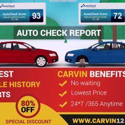 carvin cheap carfax autocheck car vin history