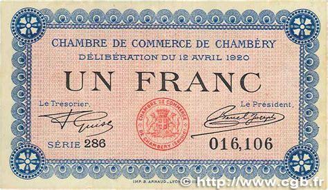 1 franc régionalisme et divers chambéry 1920 jp 044
