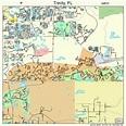 Trinity Florida Street Map 1272442