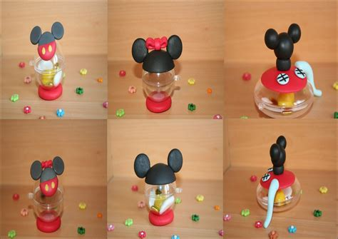 deco minnie pas cher boules 224 drag 233 es mickey et minnie la porcelaine froide de manoah creation