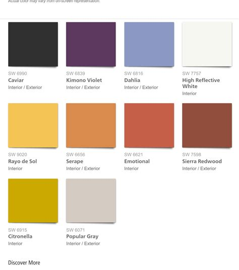 2018 Color Forecast Sherwin Williams  My Blog