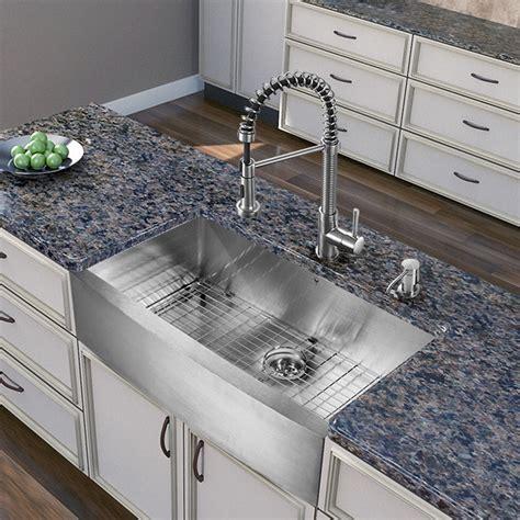 kitchen sink depths vigo industries vg15255 36 inch farmhouse stainless steel 2660