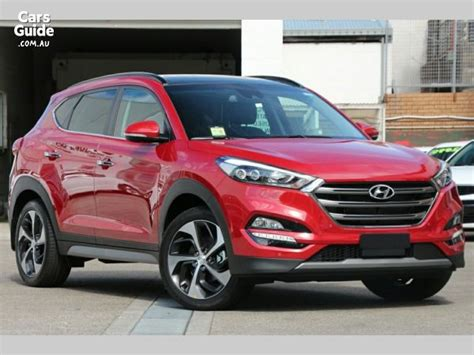 2018 Hyundai Tucson Highlander (awd) Red For Sale $45,450