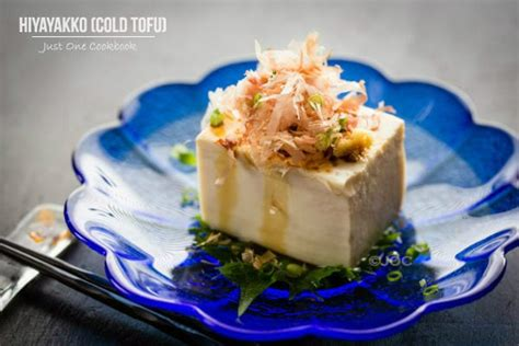japanese chilled tofu hiyayakko recipe