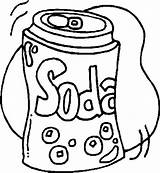 Sodas sketch template
