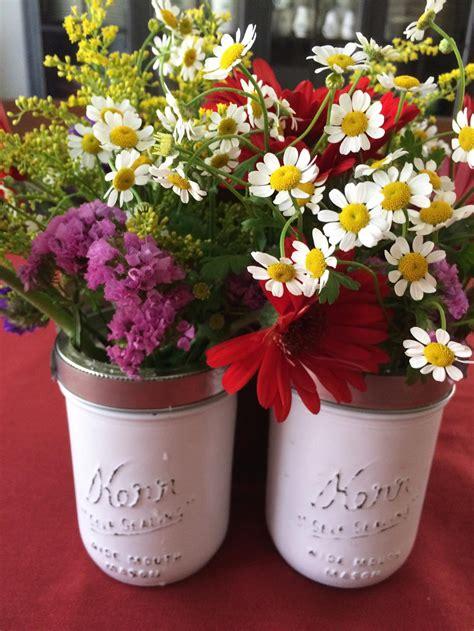mason jar flower caddy favecraftscom