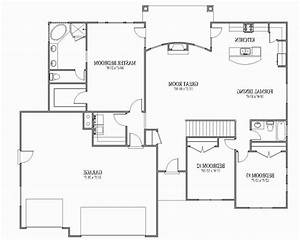 open floor plan house plans With open floor plan home designs