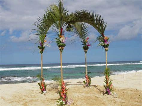 Beach Wedding Arch Ideas Wide Delivery For Hawaiian