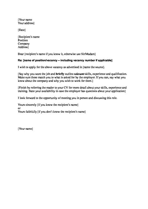 19647 exle resume cover letter cover letter exle when you don t the name 28 images