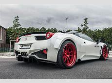 Prior Design Unveils Ferrari 458 Widebody Kit autoevolution