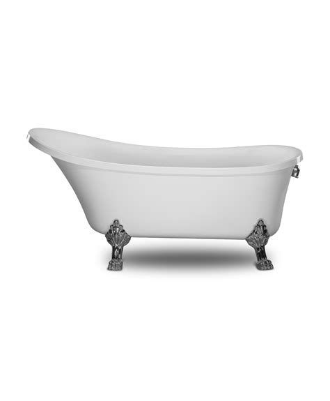 How To Use Bath Tub by 1001now Cesano 63 Quot Seamless Freestanding Acrylic Bathtub
