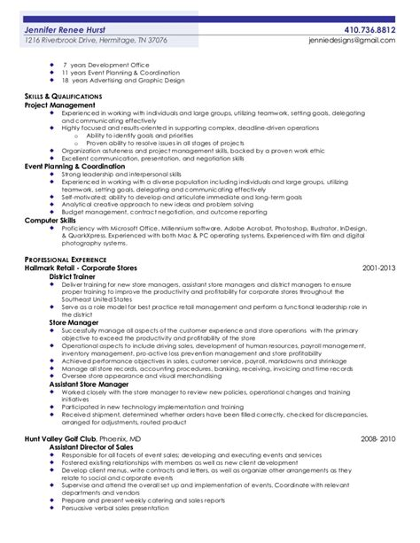 2013 Resumes Exles by Hurst 2013 Professional Resume