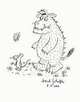 Gruffalo Donaldson Angol Mondókák Feladatok Színez�k Childrens Coloring sketch template