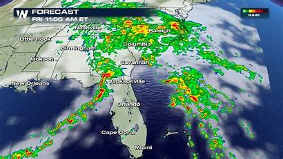 Weather Southeast Severe Friday Forecast Chances