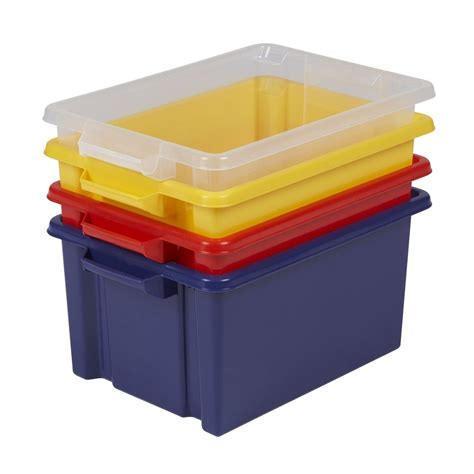 storage box buy 32lt strata maxi plastic storage box with or without lid