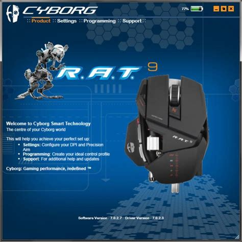 Mad Catz Cyborg Rat 9 Wireless Gaming Mouse Review