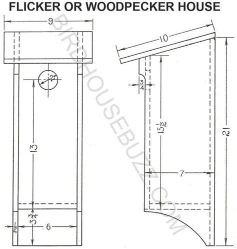 build wooden downy woodpecker birdhouse plans plans