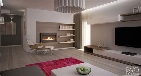 Avant Garde Apartments Feature The Lines And Lighting Visualized by Bloombety Stylish Woodland Tree Woodland