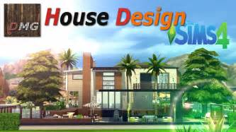 one floor home plans the sims 4 house design tour modern tropicana