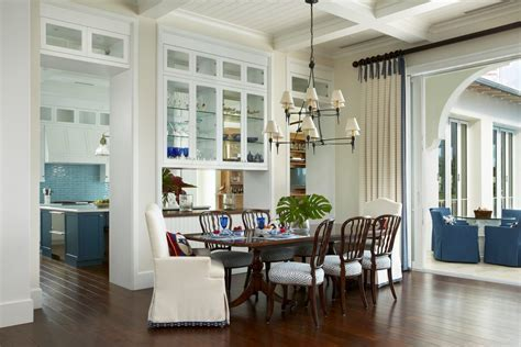 british west indies dining room contemporary with recessed