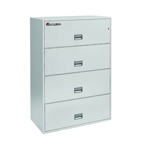 safe filing cabinet canada sentry 4l3600 4 drawer resistant cabinet 36 quot wide