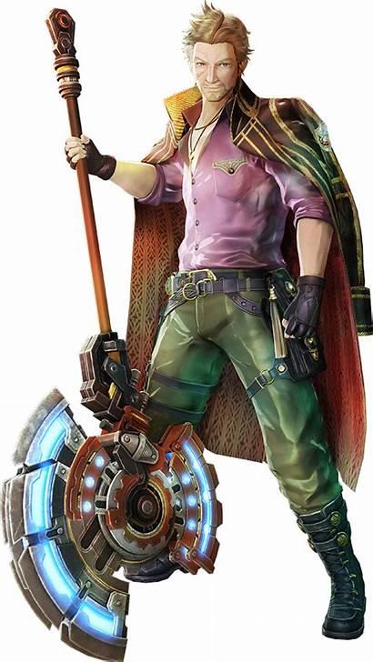 Valkyria Revolution Azure Character Screenshots Promotional Daryl