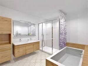 Salle De Bain Douche. petite salle de bain douche italienne. petite ...