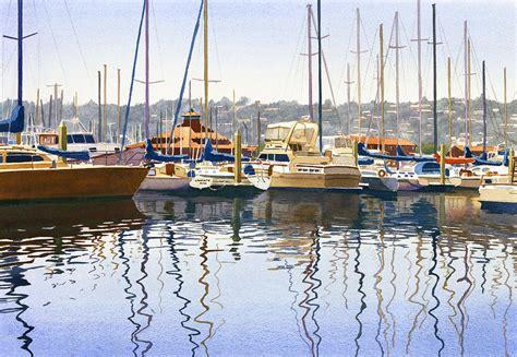 through wall air san diego yacht painting by helmreich