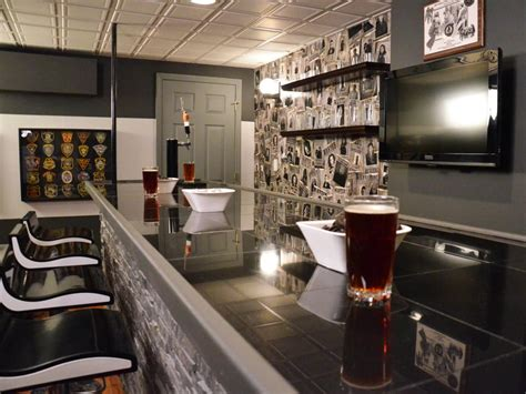 Home Bar Design Photos by 13 Great Design Ideas For Basement Bars Hgtv