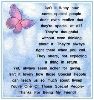 youre    special people friends