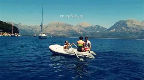 Party Boat Greece by Funny Inflatable Boat Party In Greece Youtube